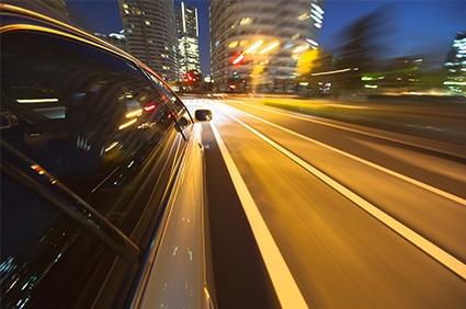נהיגה במהירות מופרזת בגלל שכרות